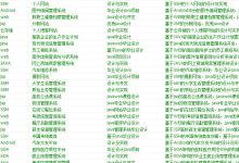 基于相关毕业设计都在这里了,基于BS,基于android,基于SSH,基于SSM,基于spring,基于asp,基于.net,基于WEB,基于java
